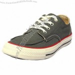 Men's Canvas Shoes, Made of Canvas and Rubber Outsole