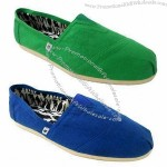 Men's casual canvas shoes, simply style but classic