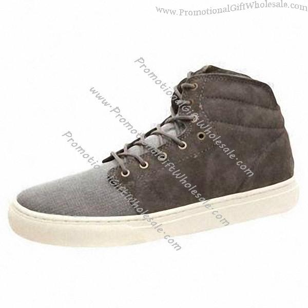 custom s casual shoes with canvas suede leather