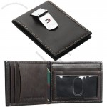Men's Front Pocket Wallet with Money Clip