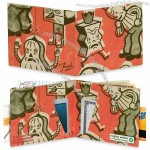 Men's Monkey Friends Mighty Wallet Tyvek