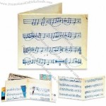 Men's Music Sheet Mighty Wallet