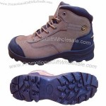 Men's Safety Boots with Buffalo Leather Upper and RB Outsole, Puncture-proof Footwear