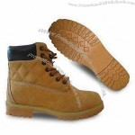Men's Safety Shoes with Leather Upper and Suede Lining
