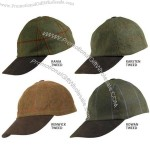 Mens Deluxe Tweed Baseball Cap - High Wool Mix
