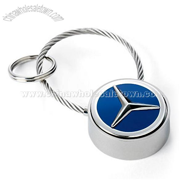 Mercedes benz cable closure key ring key chain china for Mercedes benz key chain