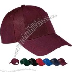 Mesh insert cap with hook and loop closure, 100% cotton 8 panel