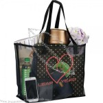 Mesh Shopper Tote Bag