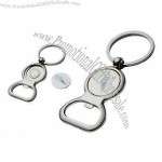 Metal Bottle Opener Coin Keychains