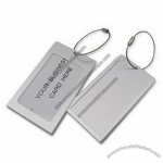 Metal Luggage Tag with Silk Screen Printing Logo