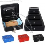 Metal Mini Cash Box with Lock