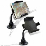 Metal PDA Holder with Suction Cup Base