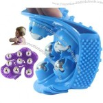 Metal Rolling Ball Massage Body Palm Massager Glove Pain Relief Device