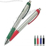 Metallic Crisscross Retractable Pen