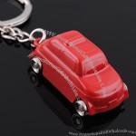 Metallic paint Car Shaped Keychain
