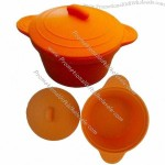 Microwave Training Silicone Bowl for Baby