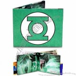 Mighty Wallet Tyvek Green Lantern Bifold