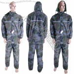 Military Camouflage Rainsuit