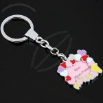 Mini Fashion Photo Frame Key Chain