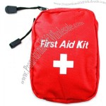 Mini First Aid Kit Bag Red