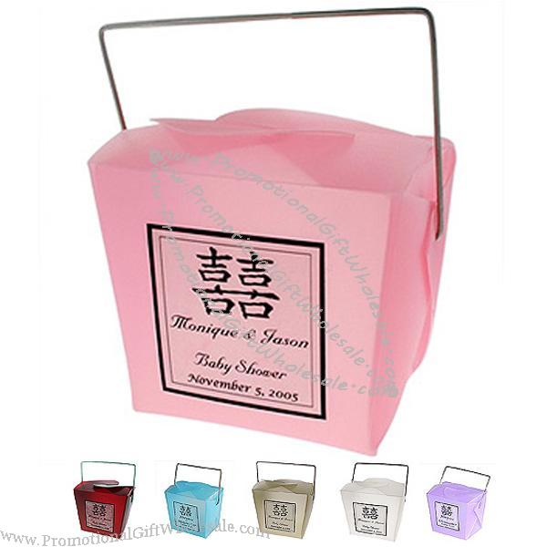 Red Chinese Take Out Favor Boxes : Mini frosted chinese take out boxes cheap price