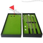 Mini Golf Club Ballpoint Pen Set - Desktop Golf Decompression Toy