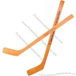 Mini Hockey Stick made of natural hardwood veneer.