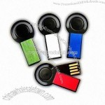 Mini Lightweight USB Flash Drive with Rolling Design