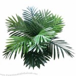 Mini Palm Artificial Plant with Different Sizes