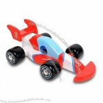 Mini Plastic Toy Car, Made of Non-phthalate PVC
