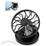Mini Solar Fan With Hat Clip