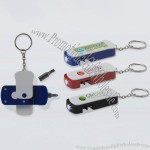 Mini tool Key Ring with LED Light