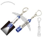 Mini Torch with Keychain