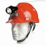 Mining Safety Helmet with Lamp