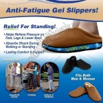 Miracle Slippers, Anti-Fatigue Gel Slippers