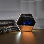 Mirror Digital Alarm Clock with LED Light