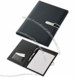 Modern A5 Conference Folder with Writing Pad