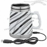 Modern Design Ceramic USB Heating Mug