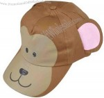 Monkey-shaped novelty cap for kid.