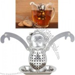 Monkey Tea Infuser Stainless Steel Infuser and Drip Tray