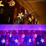 Moon and Star Shaped LED Romantic Light Strings