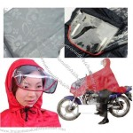 Motorcycle raincoat / poncho