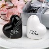 Mr and Mrs Ceramic Salt and Pepper Shakers