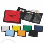 Multi Colors Nylon Velcro Wallet