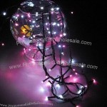 Multi-crystal Silicone Solar-powered LED Light Chain