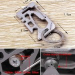 Multi-Function Credit Card Size Survival Pocket Tool