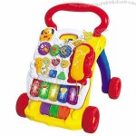 Multi-function Intellectual Musical Baby Walker/Educational Organ Toy for Baby