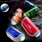 Multi-Function Pedometer With Flashlight And Alarm