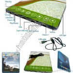 Multi-Function Wek Key Mouse Pad with USB HUB