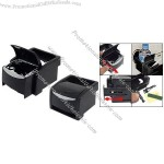 Multi-functional Auto Car Mount Ashtray Cup Stand Cell Phone Drink Holder Organizer